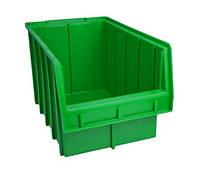 Пластиковые ящики для метизов 700 - 200 х 210 х 350 зелёный Тетиев