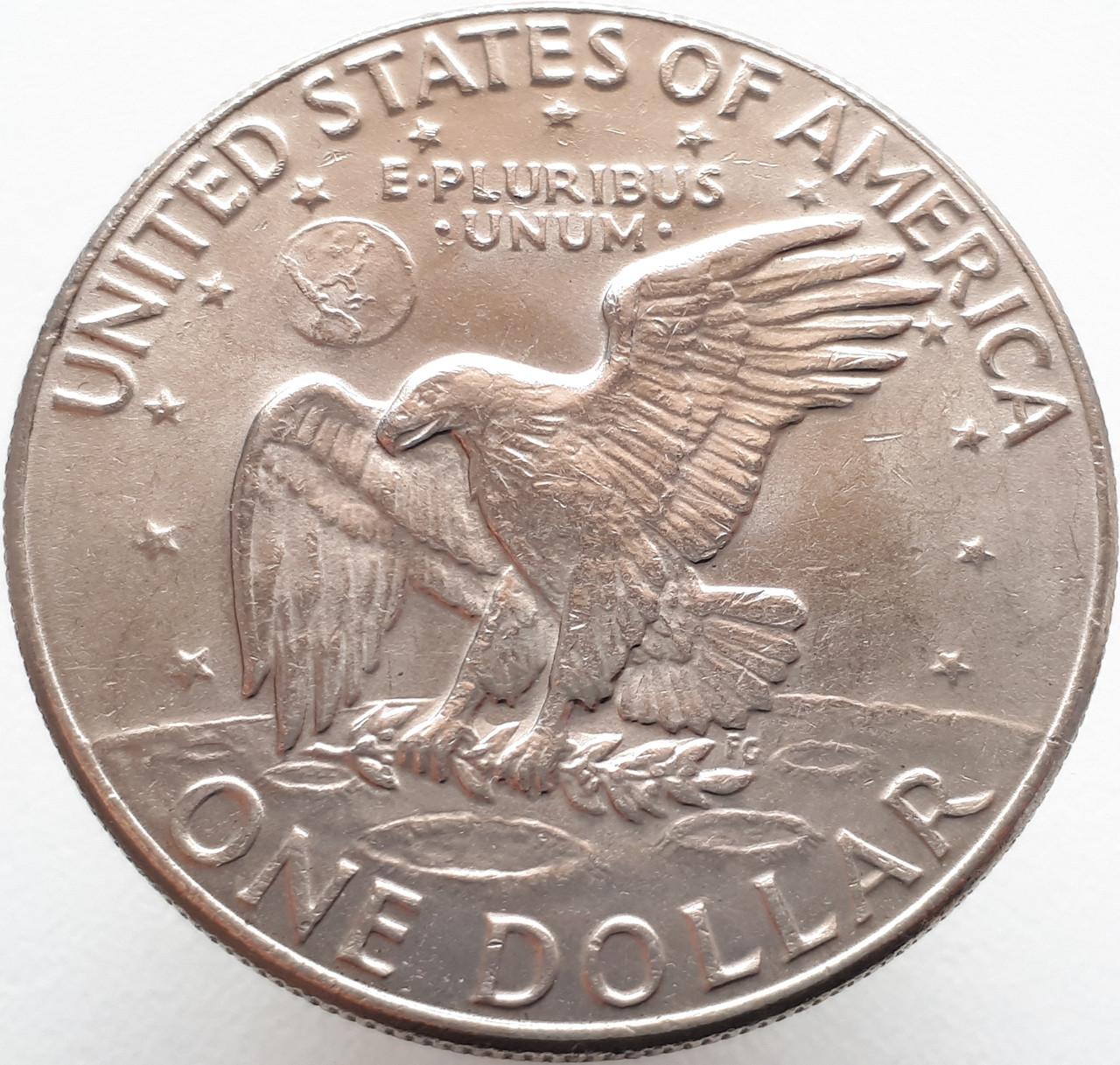 США 1 доллар 1974 D