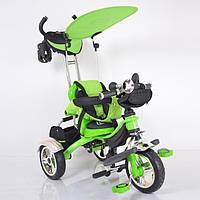 Детский трехколесный велосипед Lexus-Trike LX-570 Green