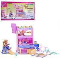 Мебель для кукол детская комната Gloria 21019