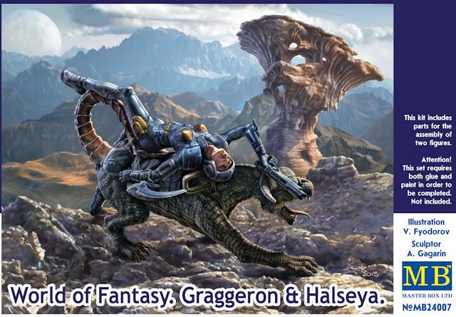 """World of Fantasy. Graggeron & Halseya"" 1/24 MB24007"