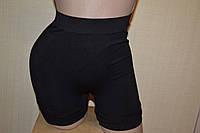 Панталоны утяжка плотные бесшовные  черные  М (48-50)