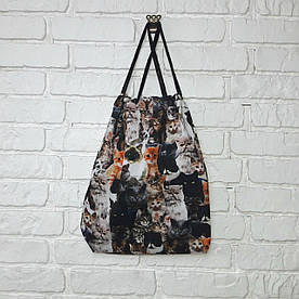 Рюкзак для обуви Коты