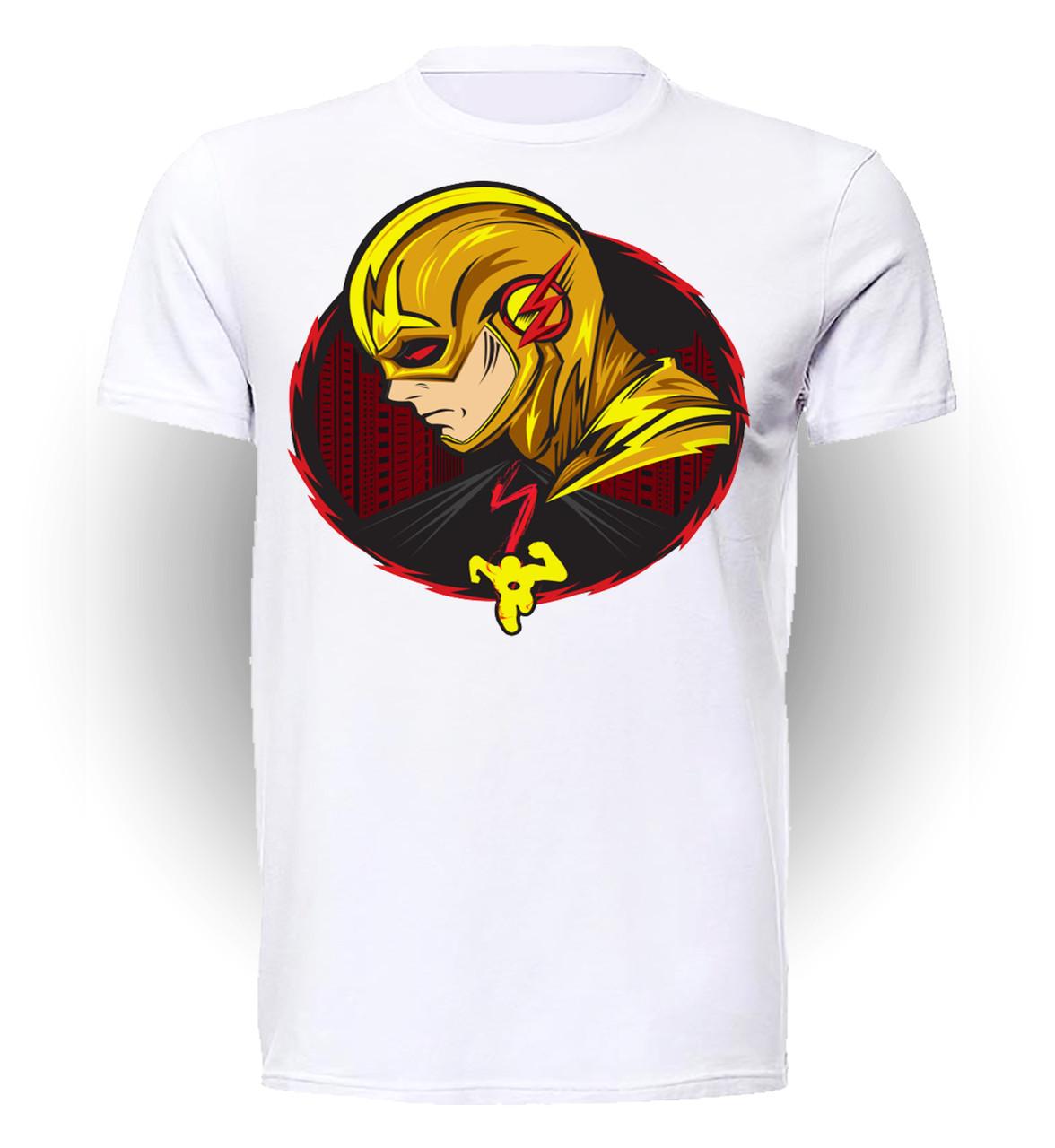 Футболка мужская GeekLand Флэш Flash желтый злодей FL.01.016
