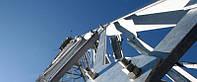 Монтаж металлоконструкций опор, мачт, башен и вышек