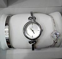 Женские кварцевые дизайнерские часы  Anne Klein+2 браслета