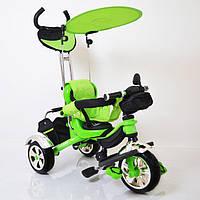 Детский трехколесный велосипед  Lexus-Trike LX-600 Green