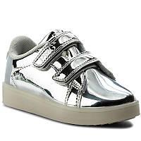 Детские туфли на девочку Серебро PRIMIGI