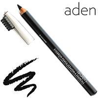 """Aden Карандаш для бровей Eyebrow Pencil """"Black/Noir"""" № 01 (Чёрный), фото 1"""
