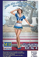 Серия пин-ап, набор № 4. Сьюзи. 1/24 MASTER BOX 24004