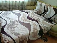 Постельное белье полуторное   бязь - голд (Л.Е.Н.)