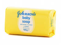 Мыло кусковое  Johnsons baby soap 100g