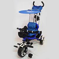 Детский трехколесный велосипед  Lexus-Trike LX-600 Blue