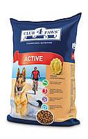«Клуб 4 Лапи» повнораціонний сухий корм для дорослих активних собак 12кг