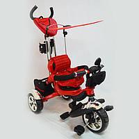 Детский трехколесный велосипед  Lexus-Trike LX-600 Red