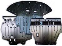 Защита двигателя+ КПП Полигон Авто для CITROEN C4 aircross 1,6; 2,0 АКПП 2012-