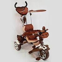 Детский трехколесный велосипед  Lexus-Trike LX-600 Brown