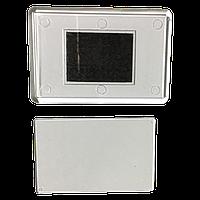Акриловая заготовка для магнита на холодильник прямоугольная