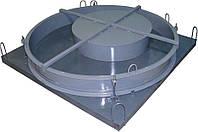 Комплект форм крышек бетонных колец 1000 мм