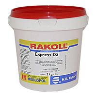Водостойкий столярный клей для дерева RAKOLL ECO D3 1кг