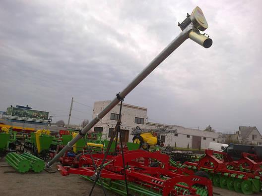 Зернопогрузчик ( зернометатель ) шнековый 8 м Польша, фото 2