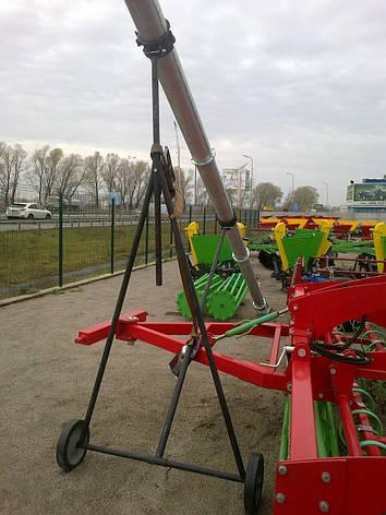 Зернопогрузчик зернометатель  шнековый 8 м Kul-Met  Польша, фото 2