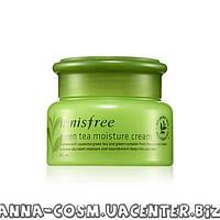Innisfree Green Tea Moisture Увлажняющий крем для сухой кожи