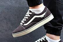 Мужские кеды Vans Old Skool замшевые,коричневые 41,44р, фото 3