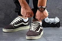 Мужские кеды Vans Old Skool замшевые,коричневые 41,44р, фото 2
