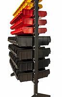 Стеллаж с ящиками ART15-138/2Д/ Стенд для инструмента в гараже Антрацит , фото 1