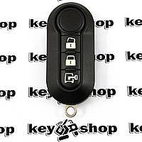 Оригинальный ключ для Citroen Nemo (Ситроен Немо) для Delphi BSI, 3 кнопки, чип ID 46 (PCF 7946), 433MHz