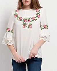 Заготовка вишиванки жіночої сорочки та блузи для вишивки бісером Бисерок  «Ніжність» (Б- 86d4c6ece2e54