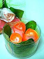 """Набор глицеринового мыла """"Розы""""., фото 1"""