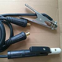 Сварочные кабеля в сборе от СВАРМАСТЕР ММА225 3 метра(1,7+1,3).