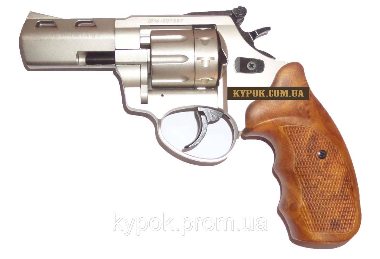 "Streamer Револьвер под патрон флобера Streamer 3"" Titan wood"