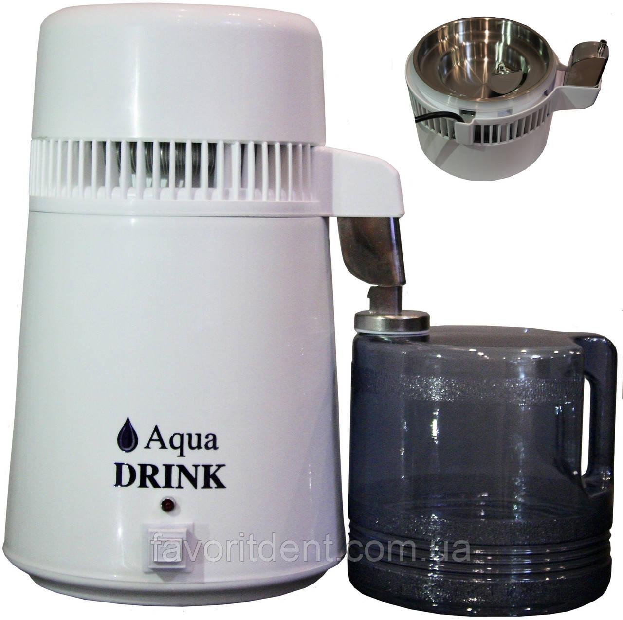 Дистиллятор воды медицинский, Дистиллятор воды бытовой Aqua Drink