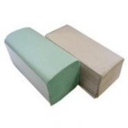 Полотенца бумажные Z серые 180 шт Л