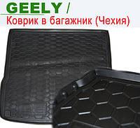 GEELY CK  2 - ковры багажника резиновые (полиуретан). Чехия