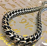 Массивная серебряная цепочка 925 пробы ВИНЕЦИЯ