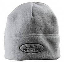 """Шапка-флис """"Fishing ROI"""" с логотипом"""
