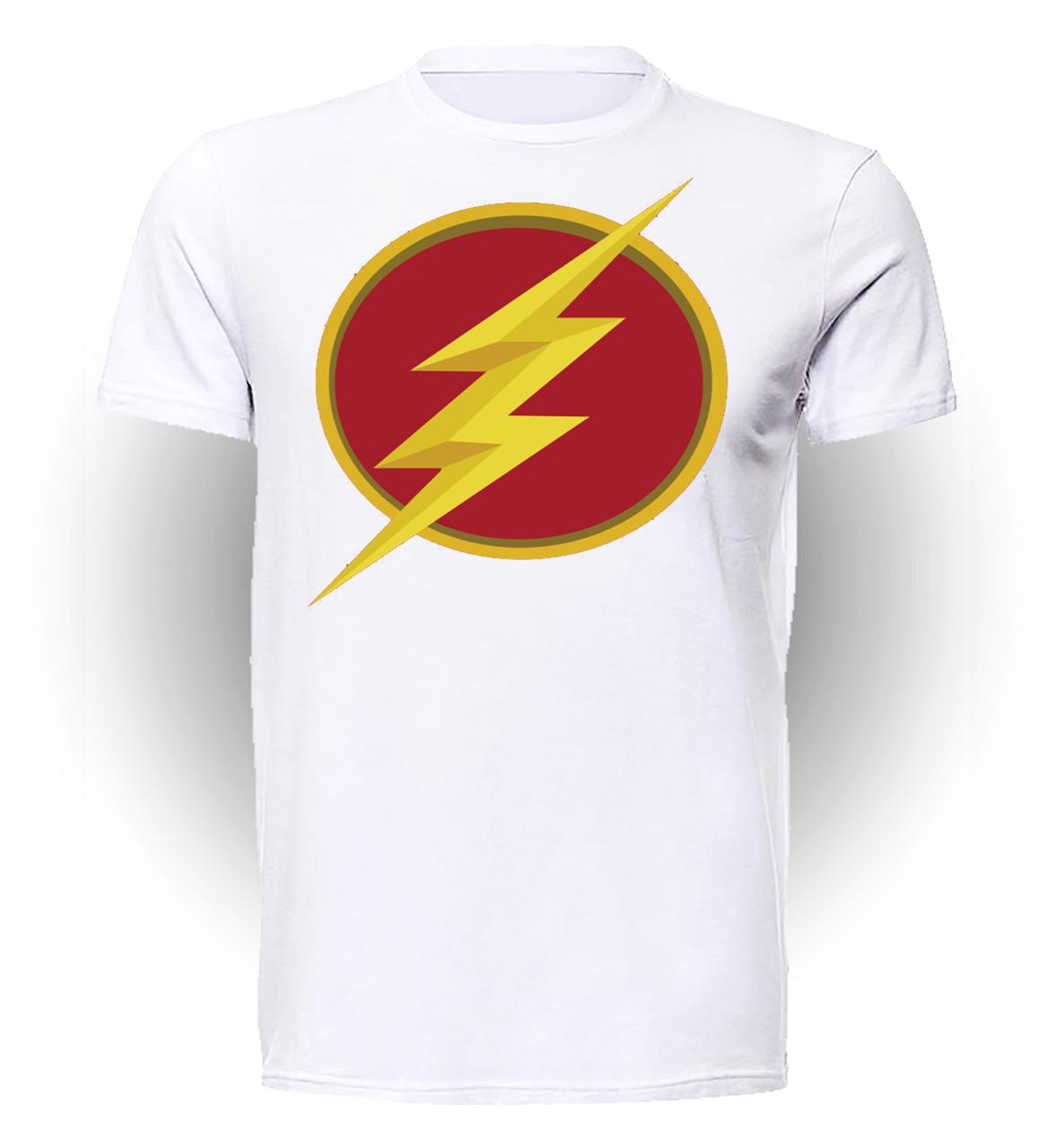 Футболка мужская GeekLand Флэш Flash логотип FL.01.020