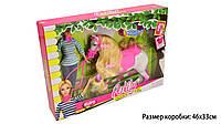 """Кукла типа """"Барби""""Anlily  наездница, с лошадью, 99102"""