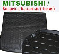 MITSUBISHI ASX - ковры багажника резиновые (полиуретан). Чехия