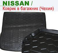 NISSAN Maxima QX (A33) (Евро) (1999>) - ковры багажника резиновые (полиуретан). Чехия