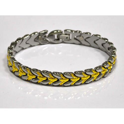 Магнітний металевий жіночий браслет