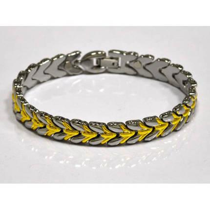 Магнітний металевий жіночий браслет, фото 2
