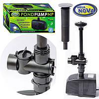 Насос для пруда AquaNova NP-1500 л/ч (в к-те фонтанные насадки)