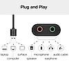Звуковая карта Ugreen USB 2.0 внешняя (30724), фото 3
