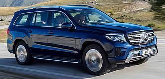Пороги подножки тюнинг Mercedes GLS