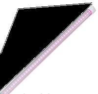 Фито LED лампа Т8 LEDMAX 1200мм 16Вт 96led SMD2835 (красный/синий-4/2) 220V